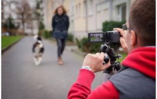 Kai Hartmann Hund mit Kamera gefilmt