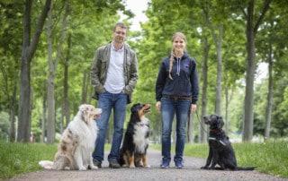 Nancy Wendler und Kai Hartmann Hundetrainer und Hundeschule