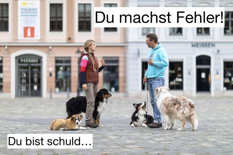 Hundeschule DresdenFehler in der Hundeerziehung Das andere Ende der Leine